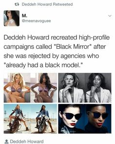 Good for her, absolutely slays. What is wrong with people? It's not like everyone not white is a token employee.