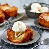 Honey Tea Cakes with Apple