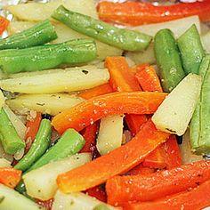 Papelote de legumes