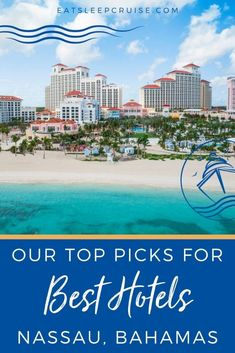 Best Hotels Near Nassau Bahamas Cruise Port (2021) - Find the perfect accommodations for your 2021 cruise with our best hotels near the Nassau, Bahamas cruise port. Bahamas Vacation, Bahamas Cruise, Nassau Bahamas, Cruise Port, Cruise Travel, Cruise Vacation, Top Hotels, Hotels Near, Best Hotels