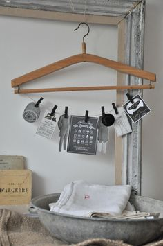 I've got plenty of extra hangers, just could use some more clothespins.