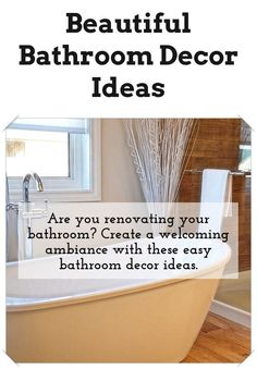 Great Bathroom Decor And Design Tips: Are You Searching For Inspirations  For Your Bathroom Design