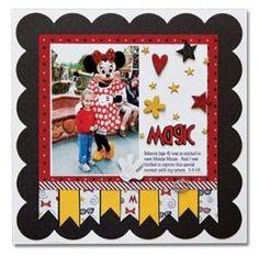 Great idea for Creative Memories' Decorative Cardstock.
