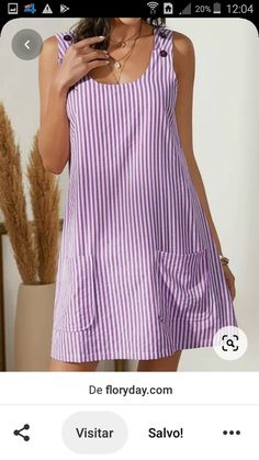 Cute Casual Dresses, Simple Dresses, Classy Outfits, Chic Outfits, Summer Dresses, Vestido Casual, Latest African Fashion Dresses, Dress Sewing Patterns, Diy Dress
