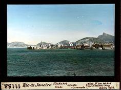 Rio de Janeiro, Einfahrt links, Stadt Corovado.  Dia_247-11188