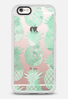 PINEAPPLE | WATERCOLOR SUMMER VIBES iPhone 6s case by Katie Clark | Casetify | PHONE CASE \ SUMMER \ PINEAPPLES \ GIFT IDEAS THIS DELIGHTFUL DESIGN