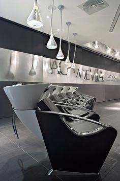 Accademia LOrèal - Milan - Italy, salone, manufacturer, sales hair style salon furniture
