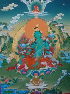 Blue tara tara pinterest buddhist art divine feminine and tara verte fandeluxe Images
