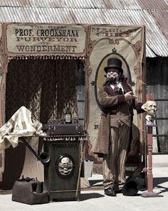 Professor Crookshank's Travelling Medicine Show