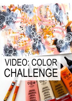 Time for an arty challenge and some inspiration from Kim Dellow to get your creative cogs whirling! Doodle Art Letters, Doodle Art Journals, Art Journal Pages, Art Videos For Kids, Watercolor Art Diy, Art Journal Inspiration, Journal Ideas, Pattern Art, Art Patterns