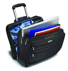 Discount Samsonite Wheeled Business Case with Removable Computer Sleeve