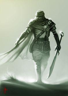 fantasy desert warrior - Google Search
