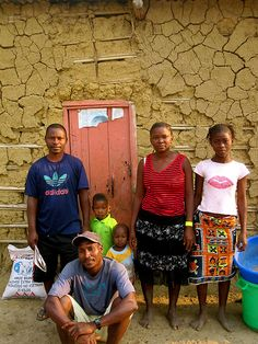 family, Angola, Africa