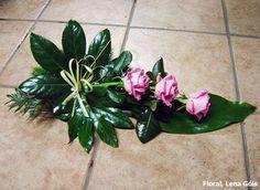 Floral Lena Góis: Arranjos florais #11                              … Beautiful Flower Arrangements, Beautiful Flowers, Funeral Arrangements, Funeral Flowers, Arte Floral, Ikebana, Flower Decorations, Floral Design, Small Flower Arrangements