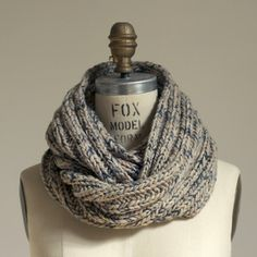 Wiksten loop scarf. I want to knit like this!