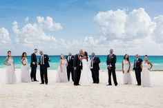 Elegant Riviera Maya Destination Wedding at the Iberostar Grand Hotel Paraíso