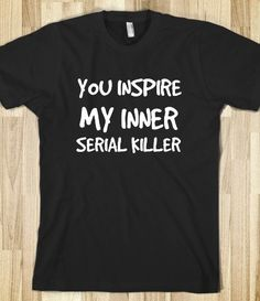Hahahahahahaha!!! I laughed way too much at this. Maybe if I wore this to work customers would be nicer.
