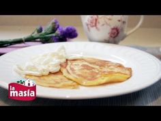 Recetas Cocina Internacional | Receta Tortitas con Nata