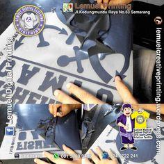 Custom Jasa Sablon Digital Cad Cut Siap Heat Press Berkualitas DIGITHING Semarang, Heat Press, Amp, Digital