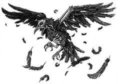 Comission: Undead Raven by Phantagrafie on deviantART