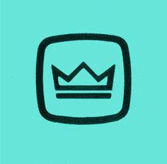 Discover more of the best Logos, Icons, Draplin, Design, and Logo inspiration on Designspiration Draplin Design, Crown Logo, Logo Restaurant, Kids Logo, Brand Identity Design, Logo Images, Logo Design Inspiration, Design Ideas, Design Reference
