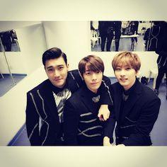 Siwon, Donghae, Eunhyuk