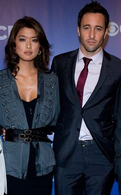 Steve and Kono Photo: Grace and Alex  ♥♥♥ Cast of Hawaii Five-0 at CBS Upfronts 2010
