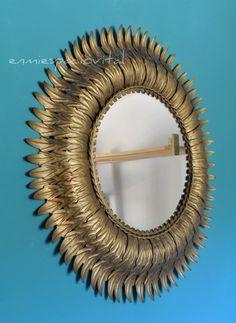 EN MI ESPACIO VITAL: Muebles Recuperados y Decoración Vintage: En la tienda: espejo sol vintage {In the store: sunburst vintage mirror}