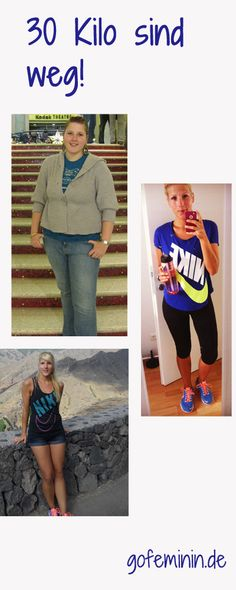 30 kg are down! That's how Jenny did it - sport - Fitness Evolution Gewichtsverlust Motivation, Weight Loss Motivation, Weight Loss Tips, Sport Fitness, Health Fitness, Fitness Inspiration, Respect, Health Promotion, Thinspiration