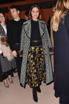 Olivia Palermo attends the Fendi show during Milan Fashion Week Fall/Winter 2018/19 on February 22 2018 in Milan Italy