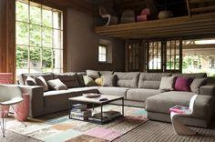 #Leefhoek met heerlijke zachte zit en is uitermate comfortabel, ideaal om een lekker in onderuit te gaan zitten of liggen.
