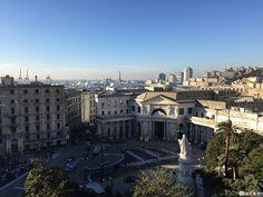 Vista su #Genova dal Grand Hotel Savoia, #liguria