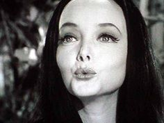 lovely morticia addams