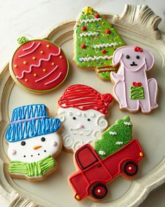 Christmas Decorated Cookies at Neiman Marcus.