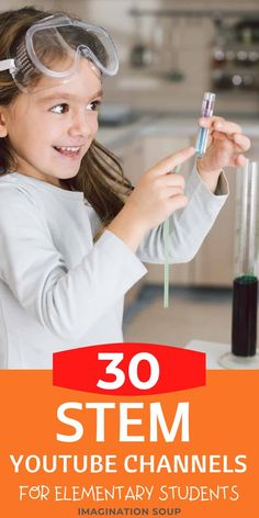 STEAM YouTube Channels for Elementary Kids | Imagination Soup Cool Science Experiments, Stem Science, Science Fair, Science Education, Earth Science, Interesting Science Topics, Teaching Kids, Kids Learning, Stem Projects
