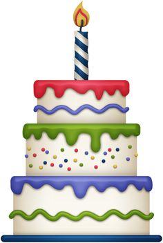 Happy birthday cake clipart Ideas for 2020 Birthday Cake Clip Art, Birthday Clips, Cute Birthday Cakes, Birthday Board, Happy Birthday Celebration, Happy Birthday Greetings, Bolo Da Minnie Mouse, Cake Clipart, Birthday Images