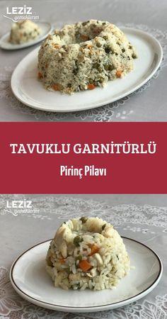 Tavuklu Garnitürlü Pirinç Pilavı – Pilav tarifi – Las recetas más prácticas y fáciles Turkish Recipes, Grains, Tasty, Food, Recipes With Rice, Recipes, Meals, Yemek, Eten