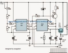 PWM circuit for motor soft start