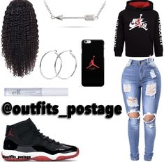 Baddie Outfits For School, Swag Outfits For Girls, Boujee Outfits, Cute Lazy Outfits, Teenage Girl Outfits, Cute Casual Outfits, Teen Fashion Outfits, Girly Outfits, Dope Outfits