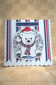 Hannah's Craft Cottage: Christmas in June, latest craft style samples.