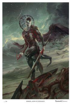 Simikiel, Angel of Vengeance (Limited Edition) — Angelarium