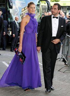 Princess Tatiana & Prince Nikolaos of Greece and Denmark at party of Princess Maxima of The Netherlands 40th b-day