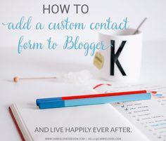Add a custom contact
