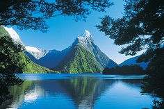 Milford Sound, NZ.