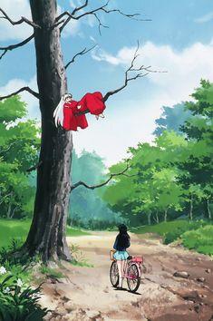 Animes Wallpapers, Cute Wallpapers, Anime Figures, Anime Characters, Manga Anime, Anime Art, Lolis Neko, Kagome And Inuyasha, Inuyasha Funny