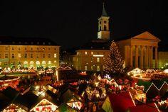 Christmas Market, Karlsruhe, Germany