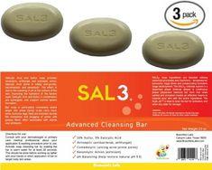 Find best price for 3 Pack - Soap - Salicylic Acid, Sulfur Seborrheic Keratosis, Acid Peel, Benzoyl Peroxide, Salicylic Acid, Massage Oil, Bar Soap, Body Wash, Healthy Life