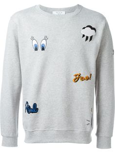 Paul & Joe Looney Tunes embroidered sweatshirt