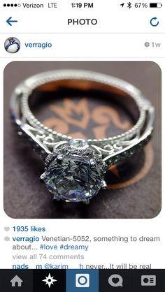 Capri Jewelers Arizona ~ www.caprijewelersaz.com Verragio engagement ring