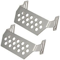 NEW Integy Stainless Steel Center Protection Skid Plate X-Maxx FREE US SHIP